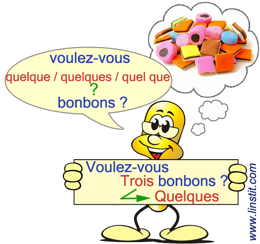 Leçon - Homophones grammaticaux - quelques / quel que ...